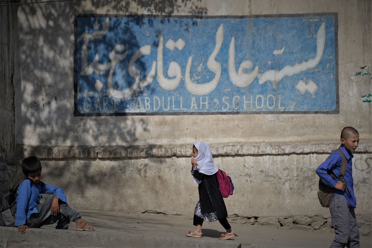 """Educación afgana, el abismo: """"Ser mujer o niña te hace pecador"""".  Internacional"""