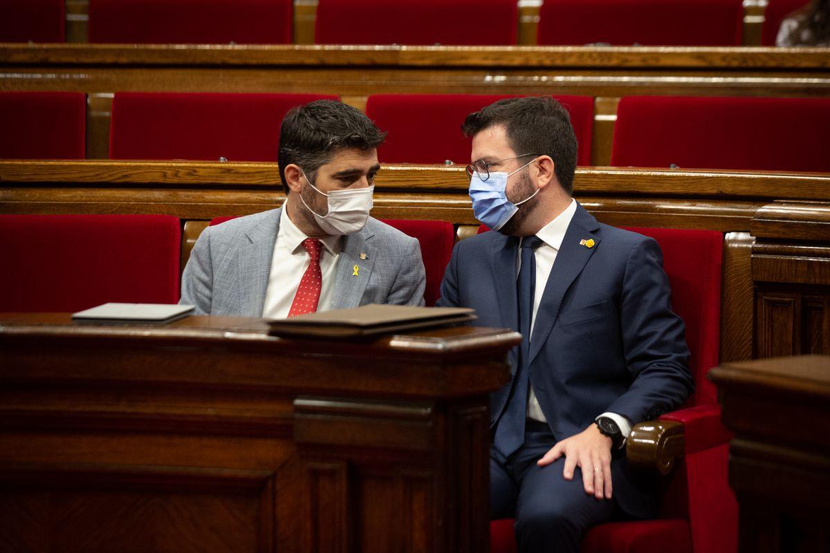 Esquerra y Junts afrontan retos CUP  Cataluña