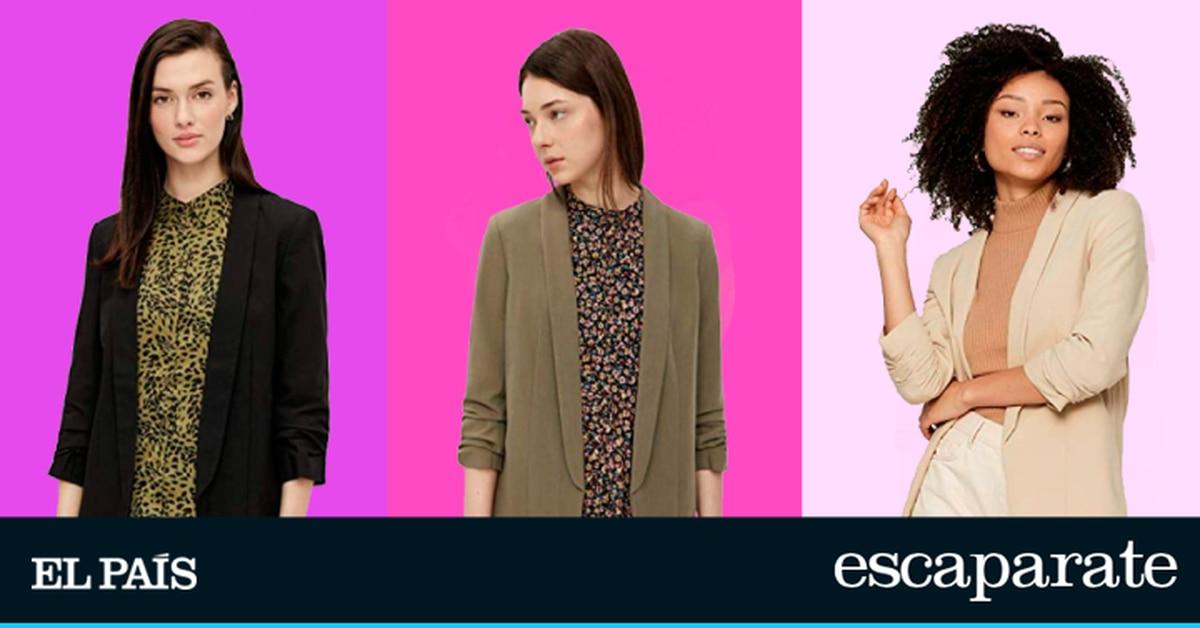 La chaqueta blazer más vendida de Amazon: disponible en doce colores y ligeramente sobredimensionada |  Escaparate