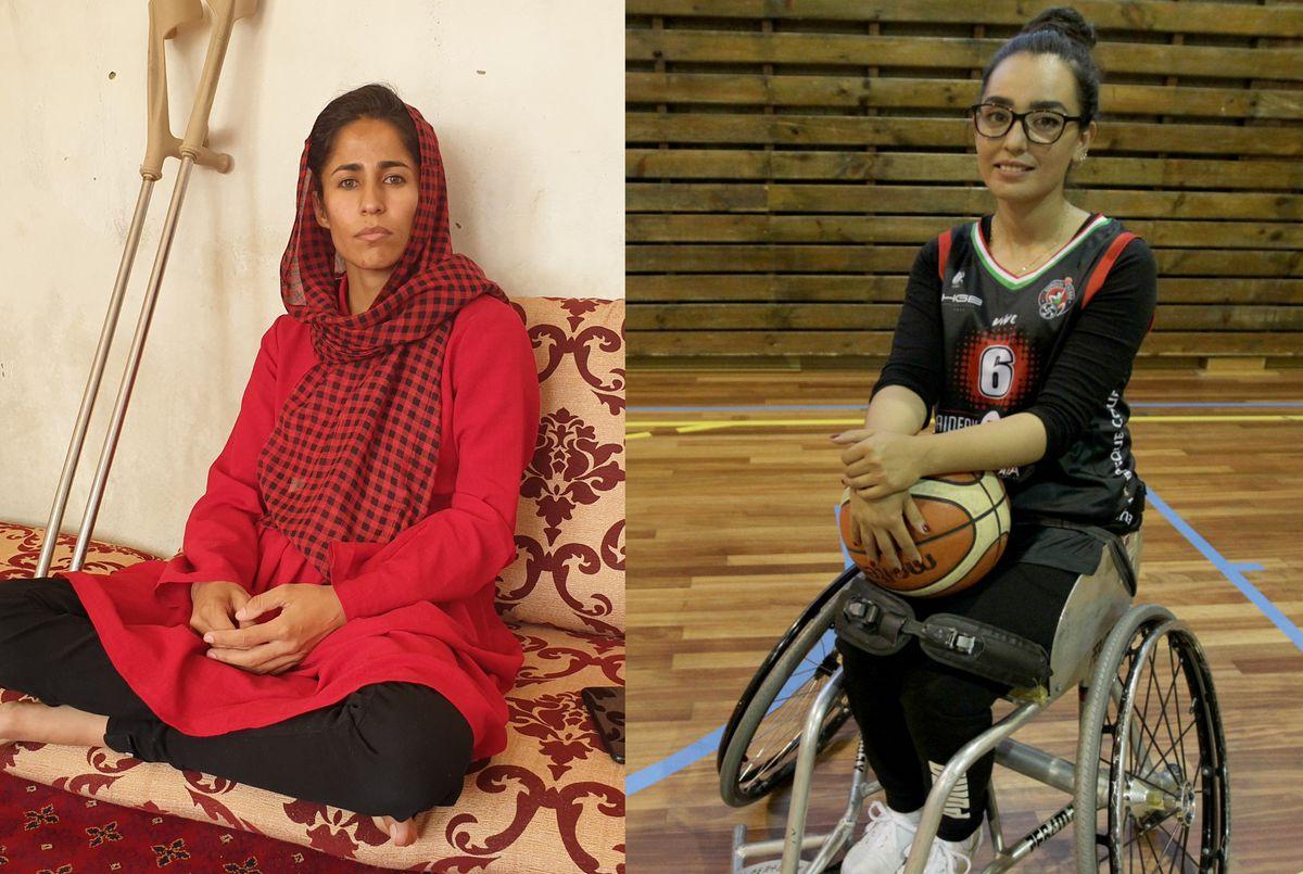 La encrucijada de dos atletas afganos  deporte